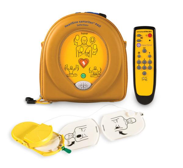 HeartSine Samaritan PAD 350P harjoitus defibrillaattori