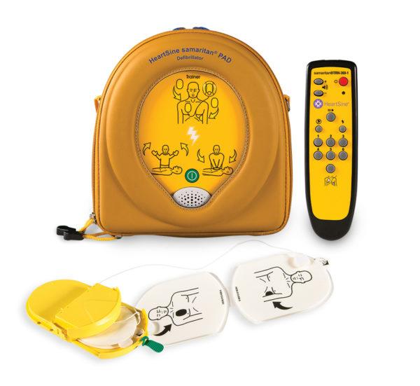 HeartSine Samaritan PAD 360P harjoitus defibrillaattori