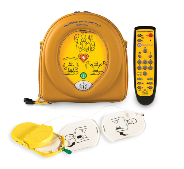 HeartSine Samaritan PAD 500P harjoitus defibrillaattori
