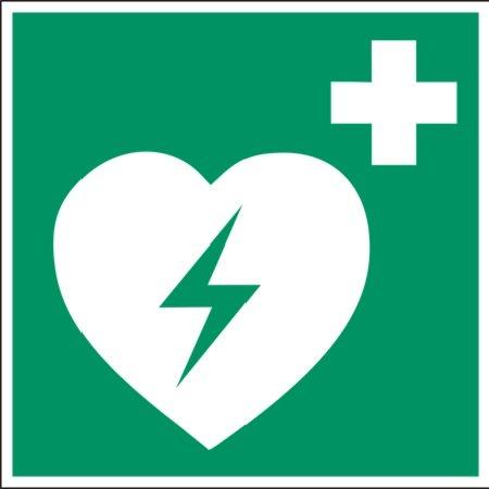 Defibrillaattori kyltti